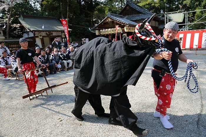 鴨都波神社 春祭り4