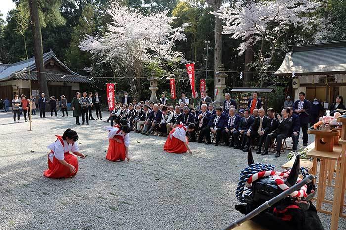 鴨都波神社 春祭り5