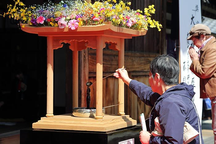 飛鳥寺 花会式3