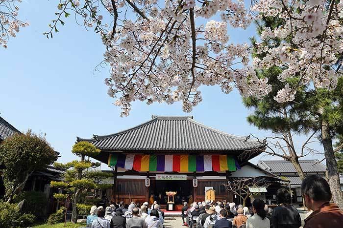 飛鳥寺 花会式1