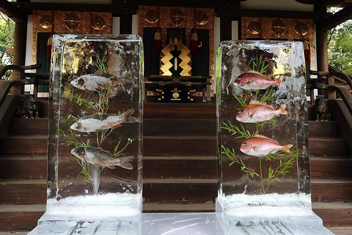 氷室神社 献氷祭1