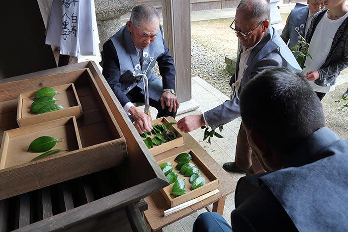 桃香野八幡神社 弁天一万度祭3