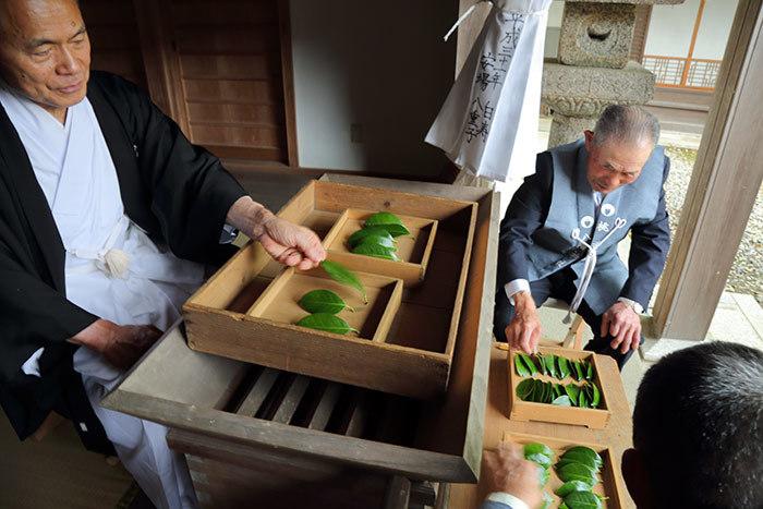 桃香野八幡神社 弁天一万度祭5