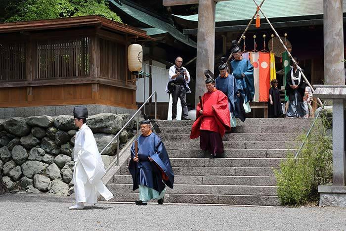 丹生川上神社下社 例祭3