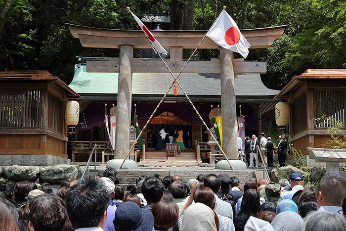 丹生川上神社下社 例祭4