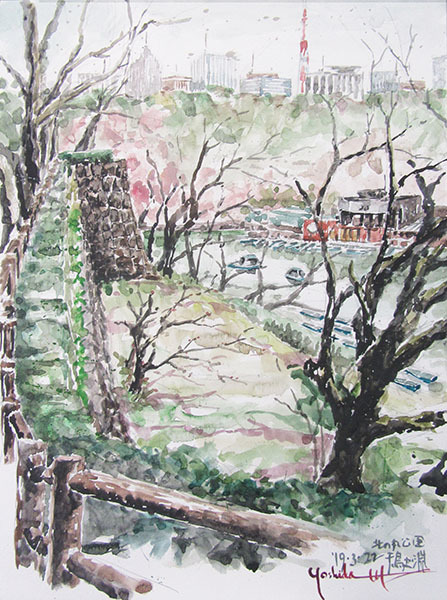 190322悠遊会・北の丸公園千鳥ヶ淵