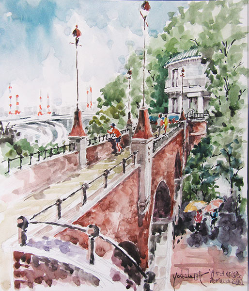 190524悠遊会・写生会・港が見える丘公園・文学館