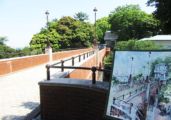 190524悠遊会・写生会・港が見える丘公園・文学館スケッチ
