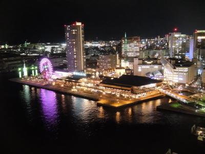 コスタクルーズ057神戸ポートタワー眺望