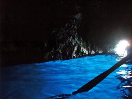 カプリ20青の洞窟