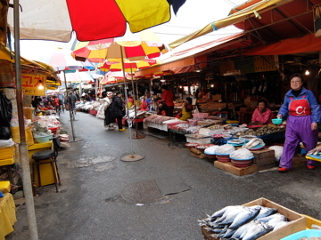コスタクルーズ087釜山チャガルチ市場