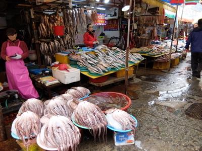 コスタクルーズ088釜山チャガルチ市場