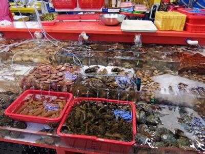コスタクルーズ091釜山チャガルチ市場