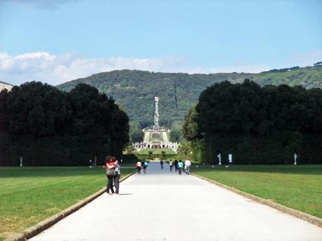 カゼルタ宮殿庭園1