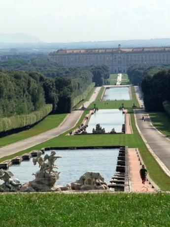 カゼルタ宮殿庭園3