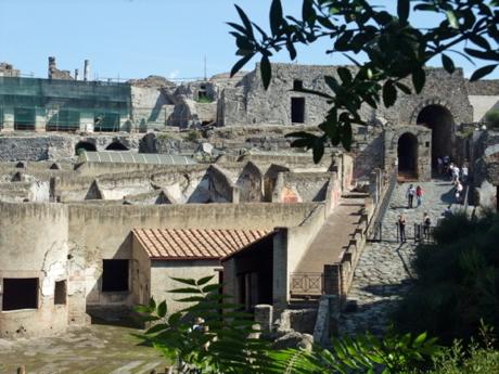 南イタリア親子旅行ポンペイ遺跡1