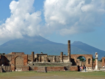 南イタリア親子旅行ポンペイ遺跡3