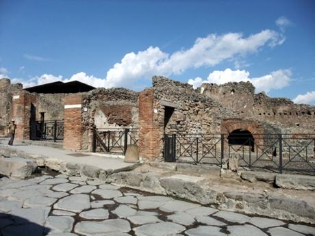 南イタリア親子旅行ポンペイ遺跡4