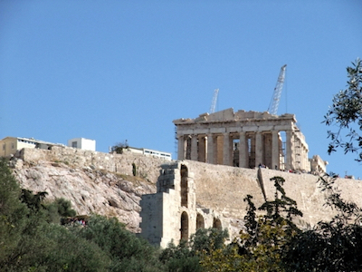 スペイン中東006パルテノン神殿