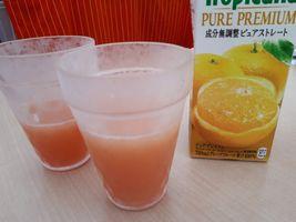 """【写真】グレープフルーツジュースで割った""""苺ッス"""""""