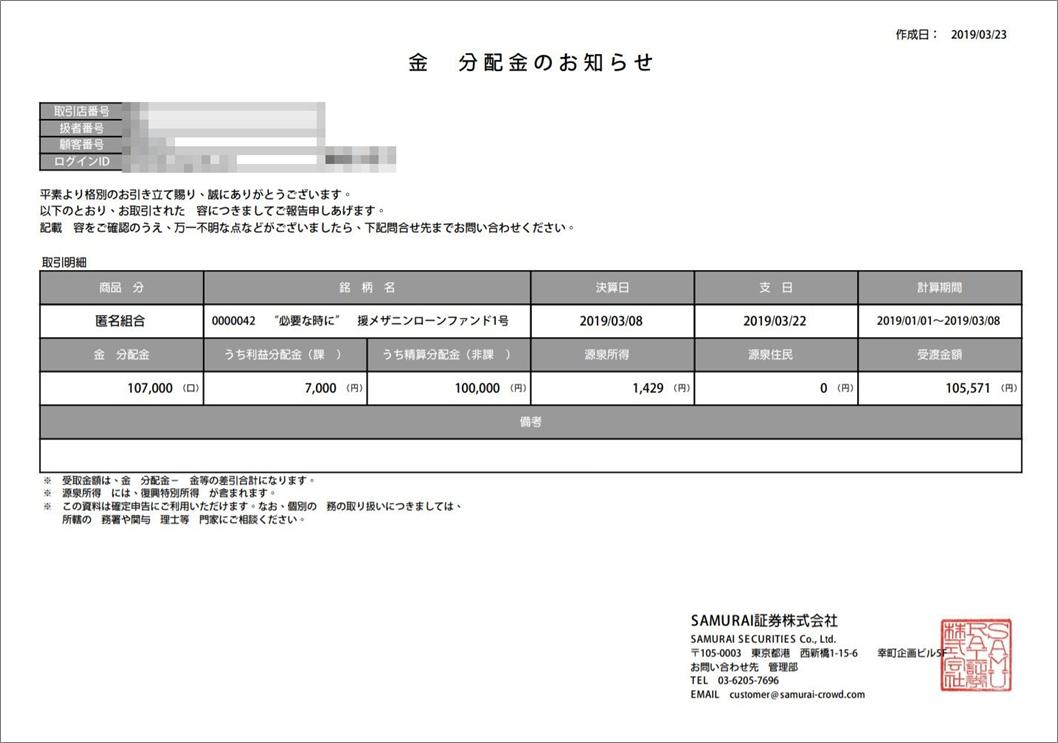 """必要な時に""""応援メザニンローンファンド1号"""