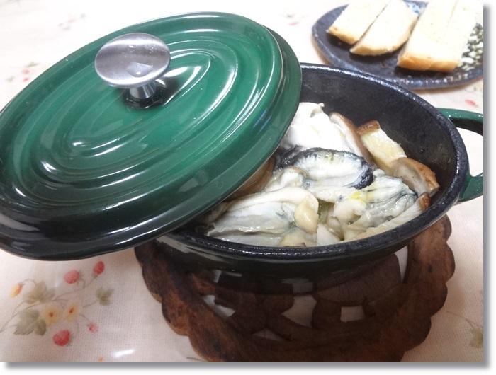 牡蠣アヒージョDSC02425