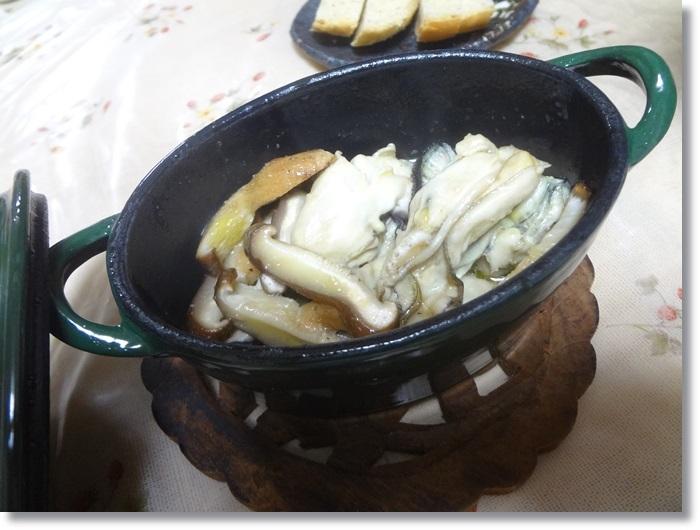 牡蠣アヒージョDSC02426