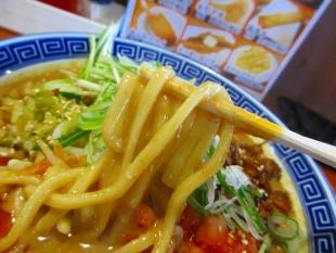 なおじ吉田 味噌担々麺 麺