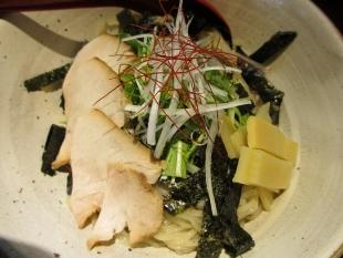 えび蔵 鯛出汁つけ麺 具