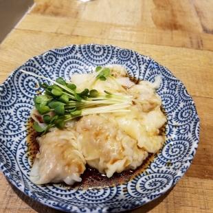 清水竹尾 皿ワンタン