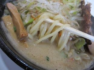 鶏処 鶏処野菜味噌肉増 麺スープ