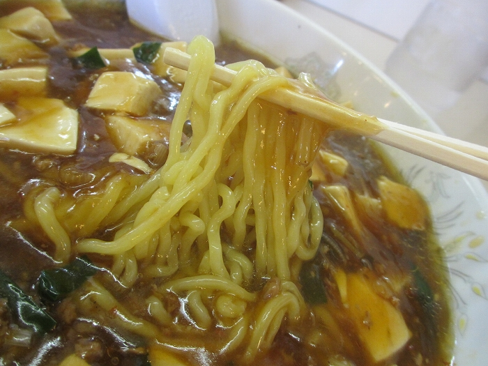 原宿 麻婆麺 麺