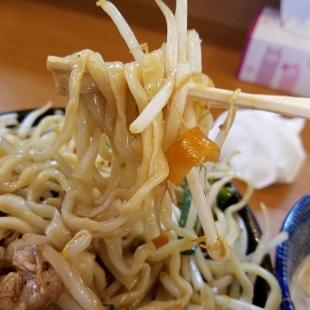 フタツメ白根店 もりタンメン 麺