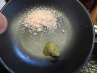 味我駆 昆布水のつけ麺 調味料
