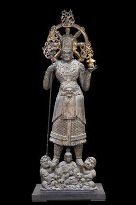 5−2東寺兜跋毘沙門天9世紀中国