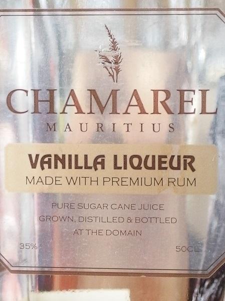 CHAMAREL Vanilla Liqueur_L600