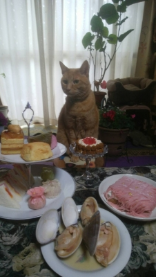 ひな陛下の昼食会