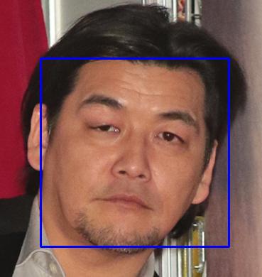 OpenCVで顔検出