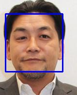 OpenCVで顔検出結果2