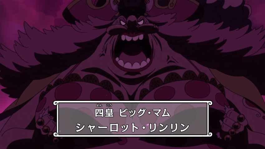 ワンピース ビッグマム アニメ 879話