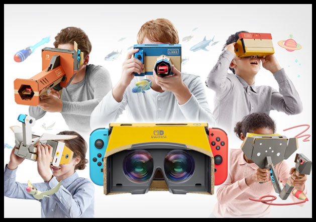 Nintendo Labo Toy-Con 04 VRKIT