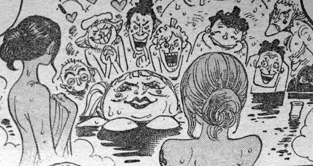 ワンピース ナミ お風呂 混浴