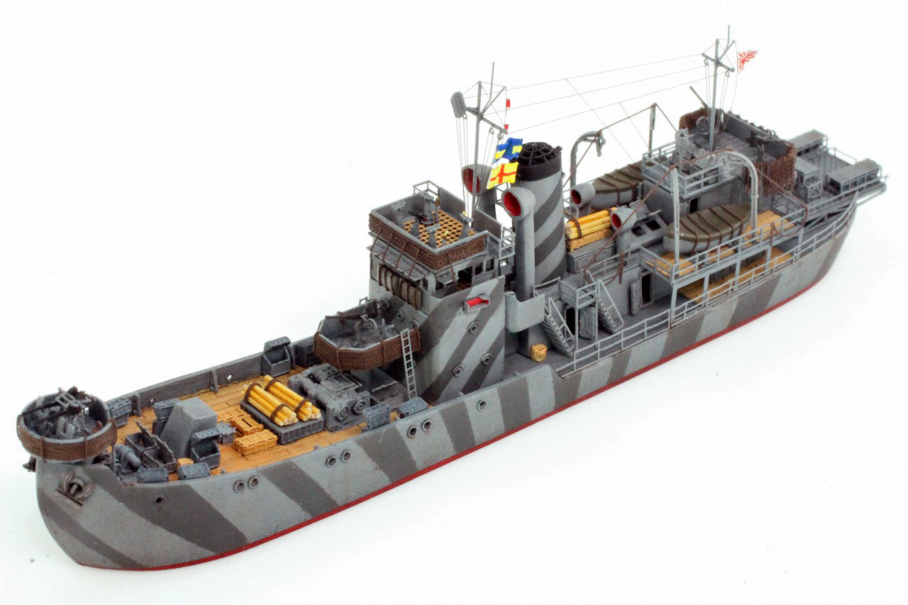 R&R工廠 【艦船模型製作工廠】 特設駆潜艇【第11昭南丸】の製作。