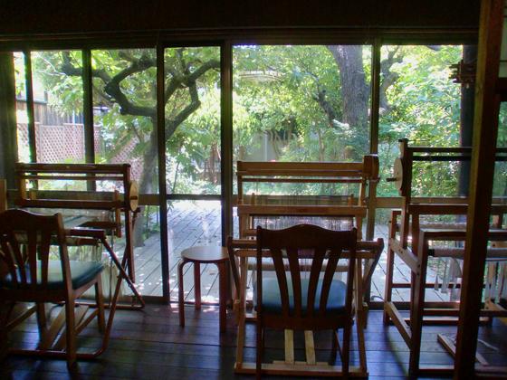 テーブルからの景色