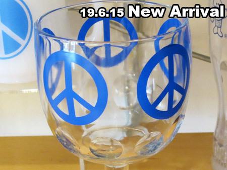PEACEゴブレットグラス