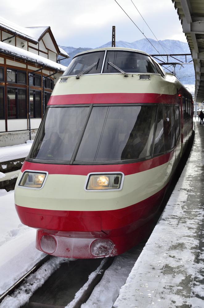 1/9-10 189系おはようライナーに乗りに行く その6(湯田中→長野) 特急ゆけむりで帰ります