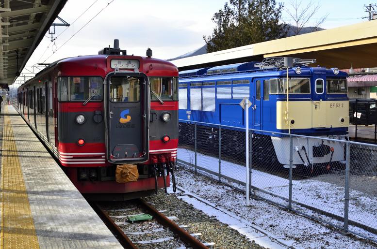 1/9-10 189系おはようライナーに乗りに行く その7(長野→軽井沢→高崎・終) 旧信越線ルートで高崎へ