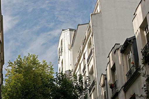 パリの道 モンマルトル