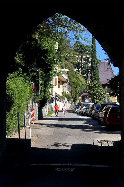 イタリア メラーノ トンネル