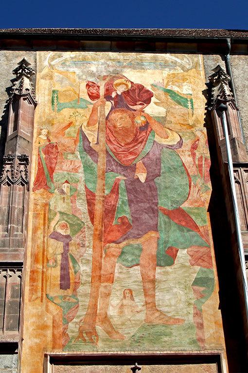 サン・ニコロ教会 壁画